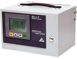 Delta-F NanoTrace I Oxygen Gas Analyzer